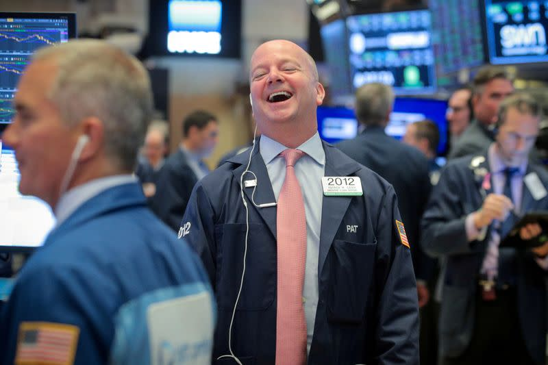 The best year financial markets have ever had?