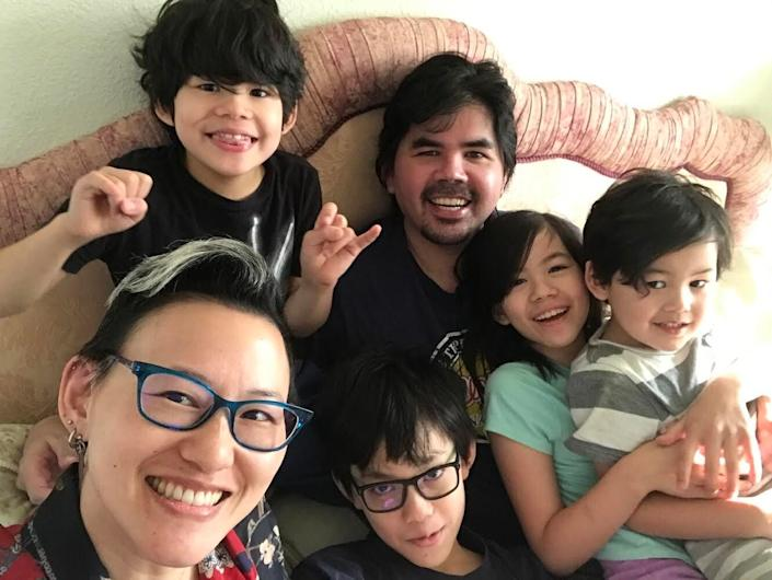 Virginia Duan and her family. (Photo: Virginia Duan)