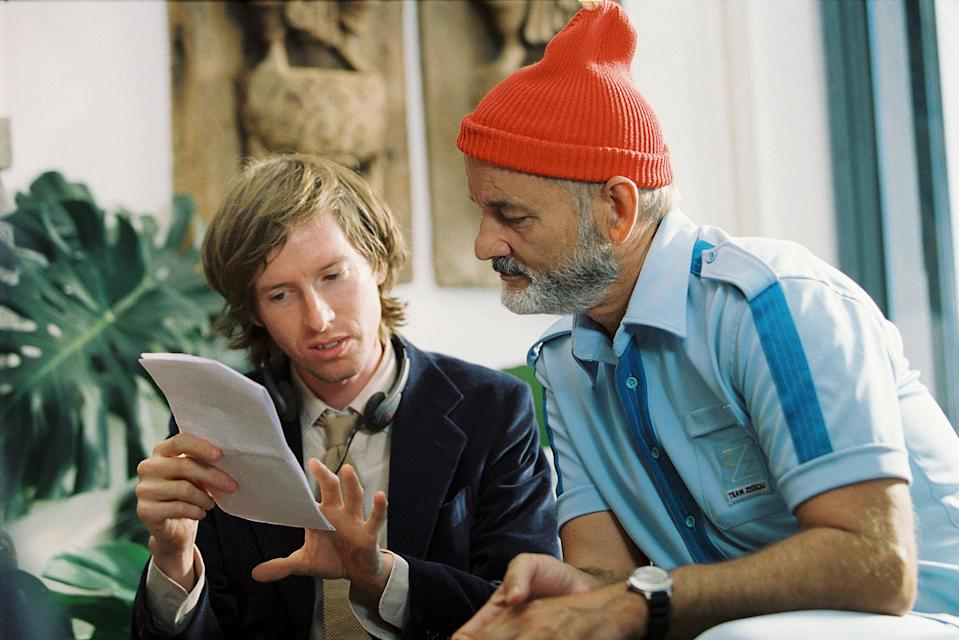 <p>Wes Anderson directs Bill Murray in 2004's 'The Life Aquatic with Steve Zissou'</p> (Philippe Antonello/Touchstone Pictures/Kobal/Shutterstock)