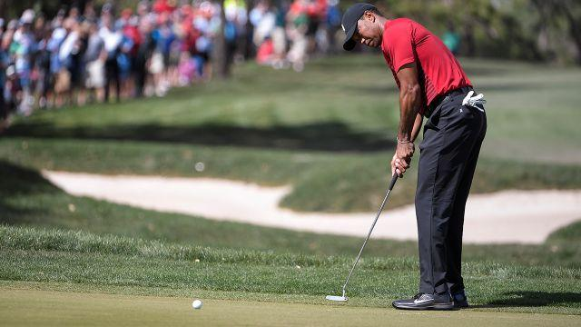 Tiger came up just short. Image: Getty