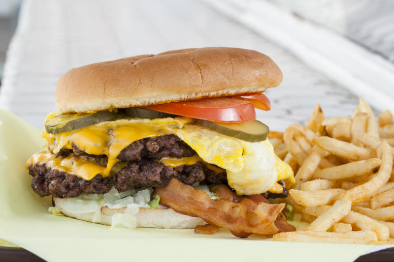 Image result for All the Places with Free Burgers and Special Deals for National Cheeseburger Day