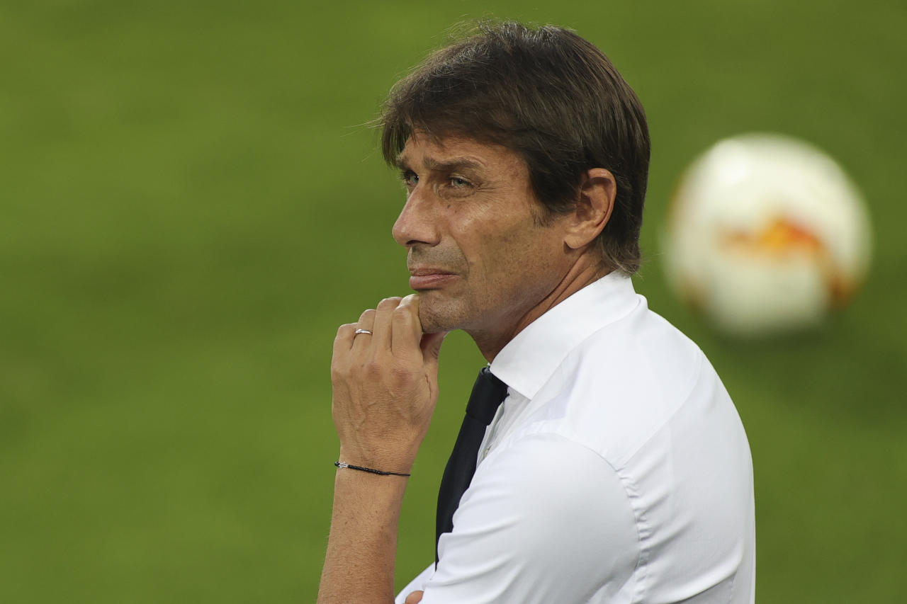 10) Antonio Conte, Inter (Friedemann Vogel/Pool via AP)