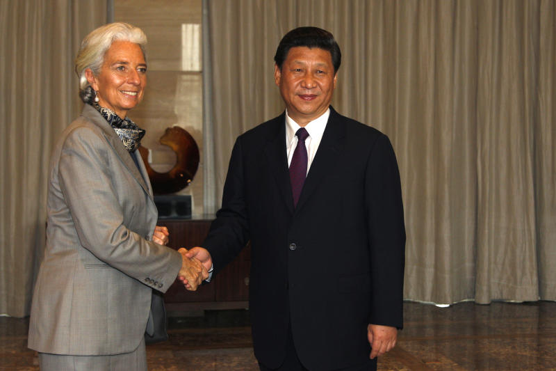 IMF chief worries about pace of economic recovery