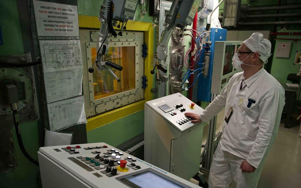 One of the plant's control panel rooms. - Mediadrumimages/Arkadiusz Podnie