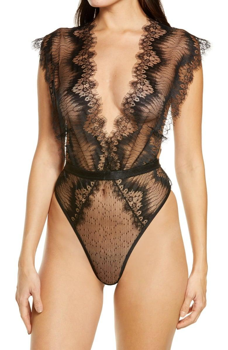 <p>This <span>Ann Summers The Bliss Body Embellished Lace Bodysuit</span> ($44) will make heads turn for sure.</p>