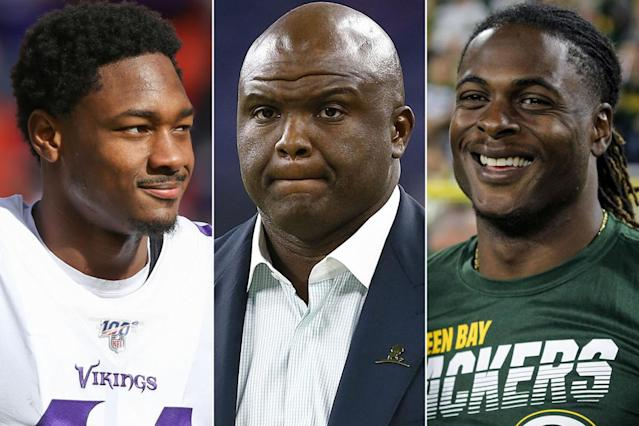 Davante Adams, Stefon Diggs mock Booger McFarland for 'MNF' screwup