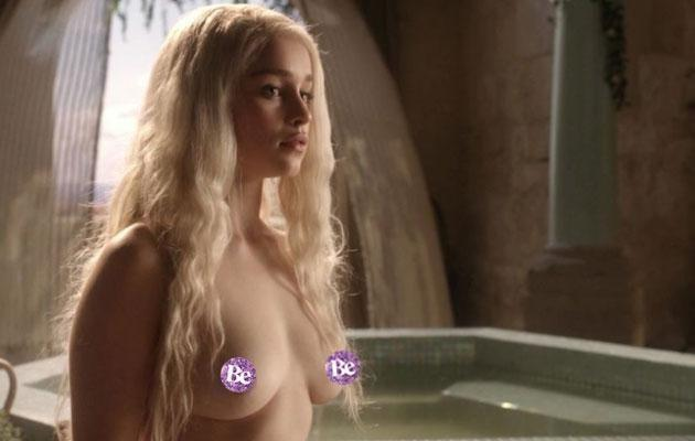 The British actress has stripped several times over the years. Source: HBO