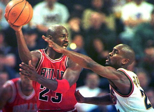 Michael Jordan broke an entire generation of basketball players, including Gary Payton. Let's hear their stories, too. (Dan Levine / Getty Images)