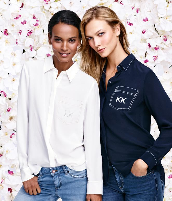 Liya Kebede and Karlie Kloss in the new Spring 2016 Joe Fresh campaign.