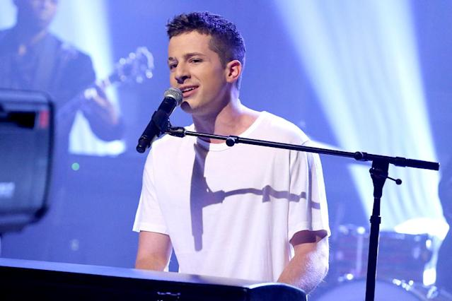 "<p>This is vying to become Puth's fourth consecutive top 30 hit as a lead artist. Puth was featured on the No. 2 Song of the Summer for 2015, Wiz Khalifa's ""See You Again."" Current Hot 100 ranking: No. 35. <a href=""https://www.youtube.com/watch?v=nfs8NYg7yQM"" rel=""nofollow noopener"" target=""_blank"" data-ylk=""slk:LISTEN HERE"" class=""link rapid-noclick-resp""><strong>LISTEN HERE</strong></a><br>(Photo: Andrew Lipovsky/NBC/NBCU Photo Bank via Getty Images) </p>"