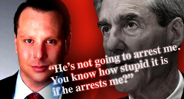 Sam Nunberg and Robert Mueller. (Photo illustration: Yahoo News; photos: file, AP)
