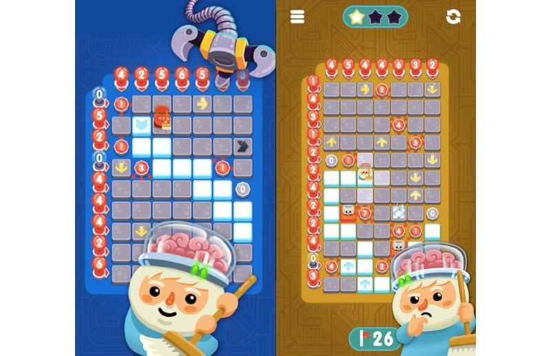 'Minesweeper Genius' will introduce a whole new generation of gamers to the horror of sweeping for landmines.