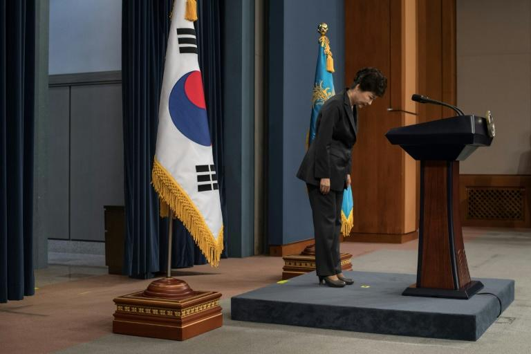 President Park Geun-Hye leaves office in disgrace, crippled by a corruption scandal that made her South Korea's first head of state to be removed by impeachment