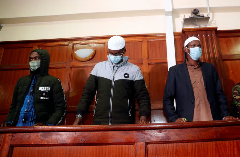 Kenya court convicts two for helping deadly jihadist attack on shopping mall