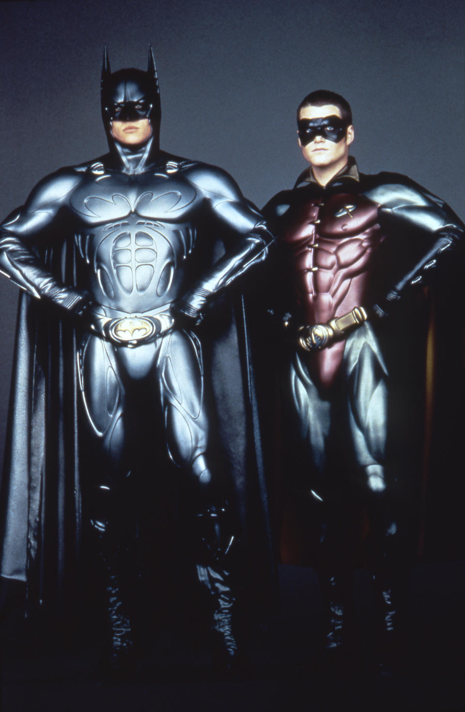 Val Kilmer and Chris O'Donnell (Photo by Warner Bros. Pictures/Sunset Boulevard/Corbis via Getty Images)