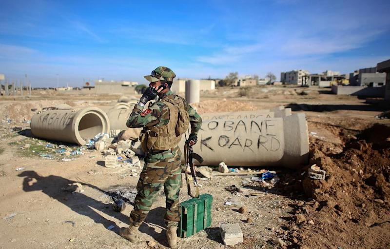 Kurdish fighters were in control of about 90 percent of Kobane, according to US officials