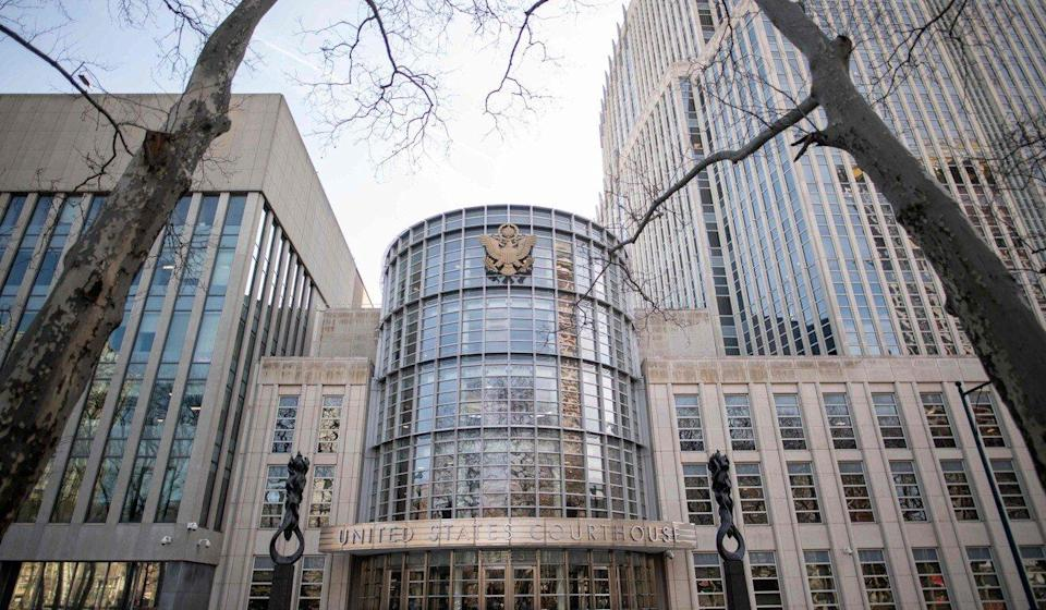 The federal courthouse in New York, where US authorities want Meng put on trial for fraud. Photo: AFP