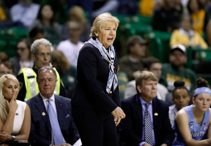 Longtime UNC-Chapel Hill women's basketball coach Sylvia Hatchell is out after players accused her of making racially insensitive remarks and forcing them to play while injured. (Photo: ASSOCIATED PRESS)