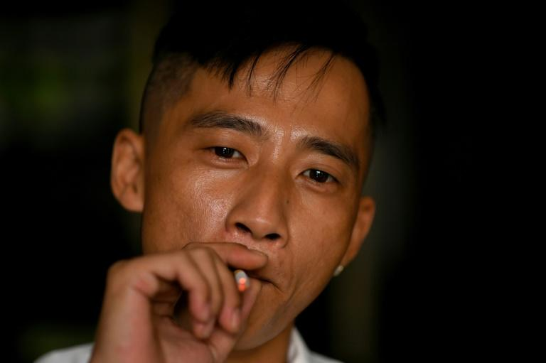 Cuong Nguyen slipped into Britain illegally,hidden under a lorry before going on to grow cannabis in homes, hotels and even a stable (AFP Photo/Manan VATSYAYANA)