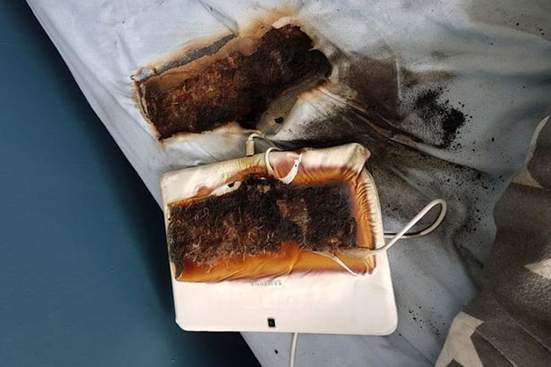 11-Year-Old Boy's Samsung Tablet Overheats and Burns Into Bed: His 'Life Could Have Been at Risk'