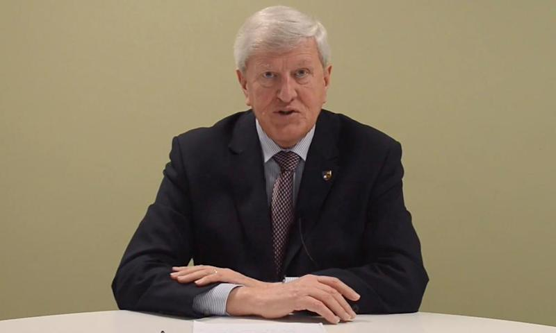 The Surrey county council leader, David Hodge