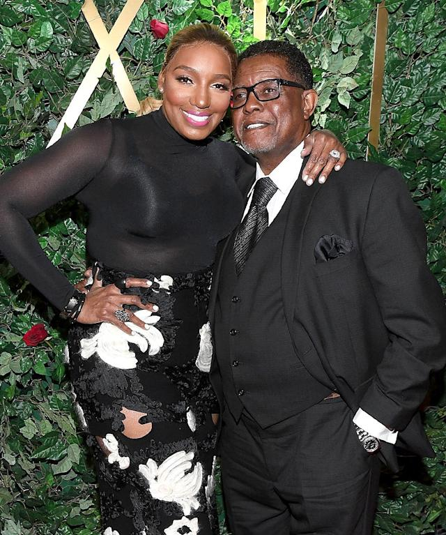"<p>Of course, the <i>Real Housewives of Atlanta</i> star has had drama with her significant other. NeNe and Gregg split in 2010, after 13 years of marriage, but couldn't stay apart long. Their divorce was finalized in 2011. However, they were definitely back together by New Year's 2013. The reality star told Jimmy Fallon on his <i>Tonight Show</i> the countdown was far from the highlight of the evening. ""Well, a little after midnight, I was asked this beautiful question: Will you marry me — again?"" she said. They remarried on TV (naturally) in 2013. (Photo: Paras Griffin/Getty Images) </p>"