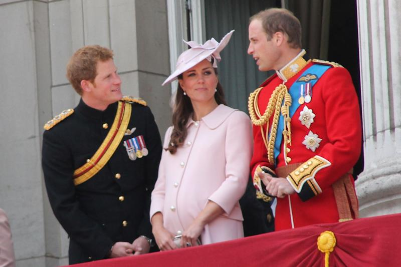 The Blast shares Prince William and Prince Harry feud