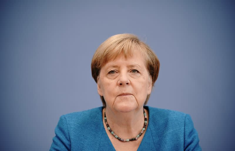 Merkel says world needs to do more to combat climate change