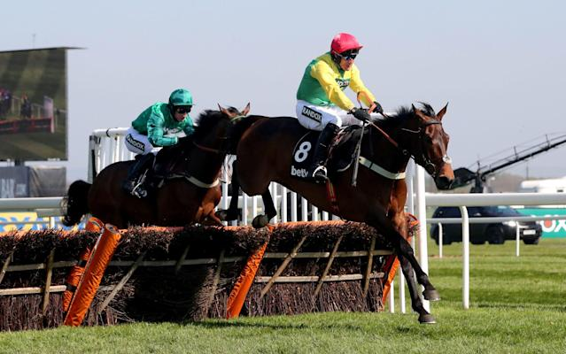 <span>Finian's Oscar provided Power with the first of a Saturday double</span> <span>Credit: pa </span>