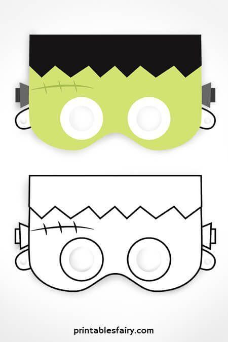 """<p>Each of these printable Halloween masks comes in two versions: one for kiddos to color, and one ready to wear as it is. Choose from black cat, vampire, Frankenstein, and jack-o-lantern styles.</p><p><em>Get the printable at <a href=""""https://www.printablesfairy.com/printable-halloween-masks/"""" rel=""""nofollow noopener"""" target=""""_blank"""" data-ylk=""""slk:Get the printable at Printables Fairy »"""" class=""""link rapid-noclick-resp"""">Get the printable at Printables Fairy »</a></em></p>"""