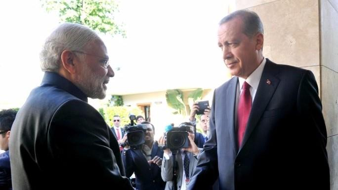 Erdogan Suggests 'Multilateral' Talks on J&K Ahead of Meeting Modi