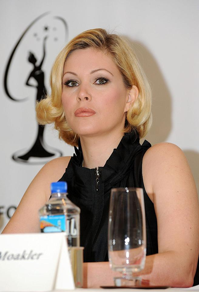 """One day after The Donald's announcement, Miss California coordinator Shanna Moakler (a former Miss USA herself) resigned from her job, saying her conscience wouldn't let her serve an organization she no longer believed in. Amanda Edwards/<a href=""""http://www.gettyimages.com/"""" target=""""new"""">GettyImages.com</a> - May 11, 2009"""