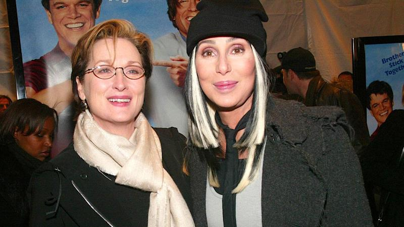 Meryl Streep Says She's Dealt With 'Real Physical Violence' Twice in Her Life -- and One Time, Cher Was There