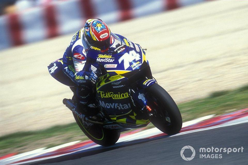 "2003: Daijiro Katoh (Honda RC211V)<span class=""copyright"">Gold and Goose / Motorsport Images</span>"