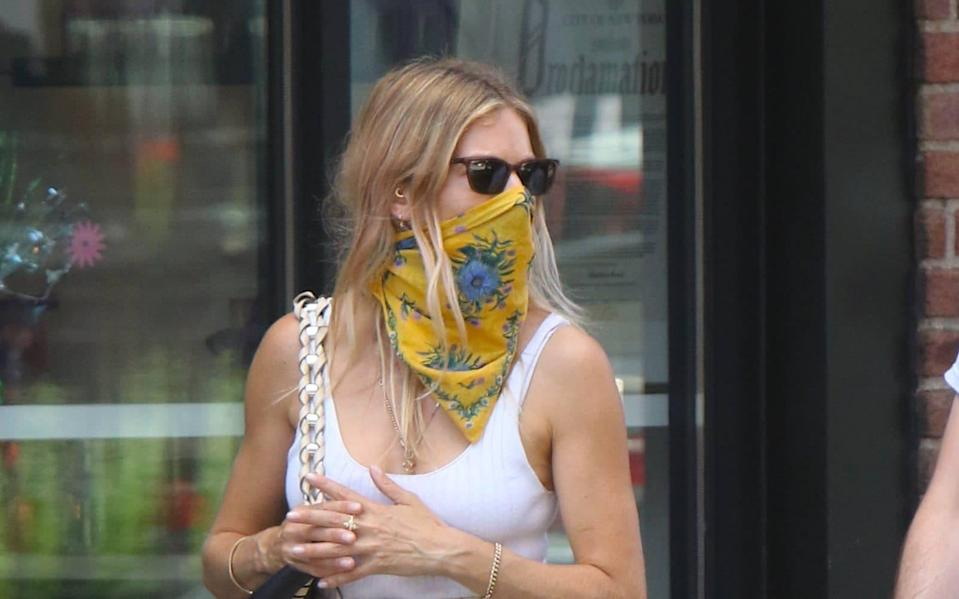 Actress Sienna Miller on 28th July