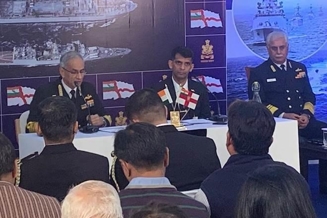 He said that to cope with the dwindling budget, the Navy keeps balance so that it does not adversely affect its capabilities. (ANI Image)