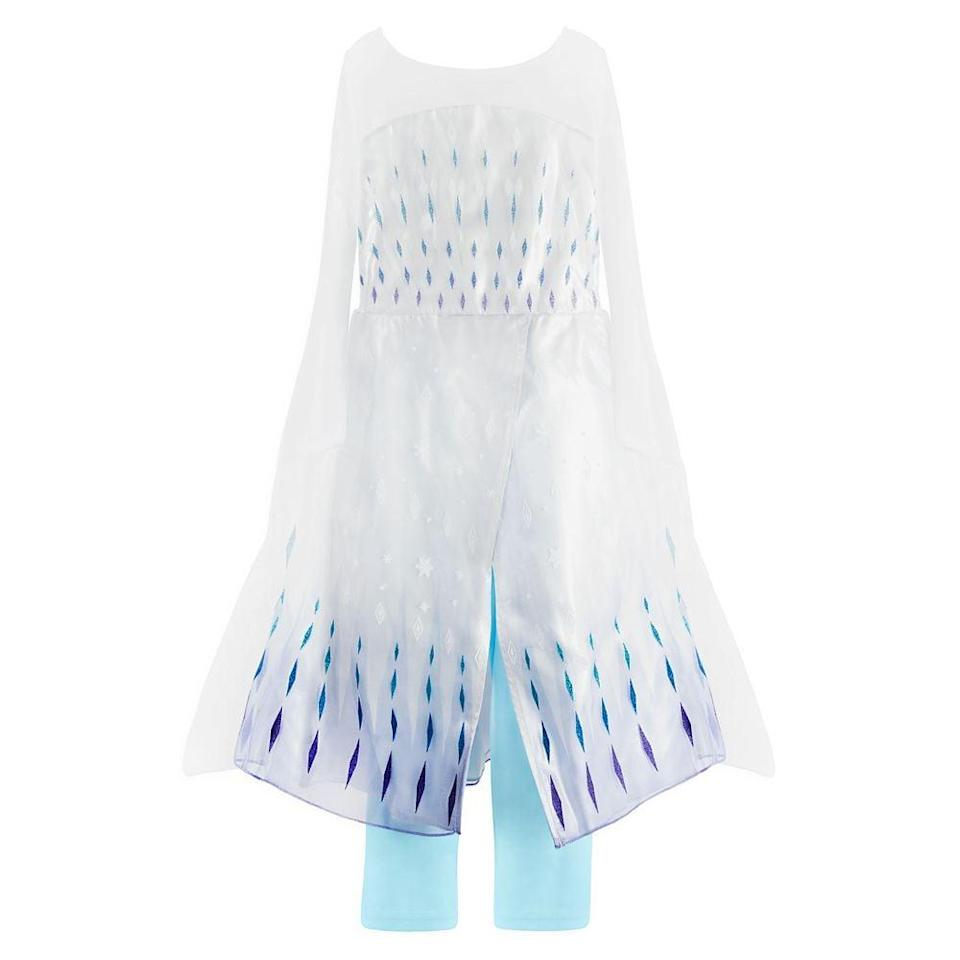 <p>They won't want to take off this <span>shopDisney Elsa Snow Queen Costume</span> ($60). It'll be their everyday uniform.</p>