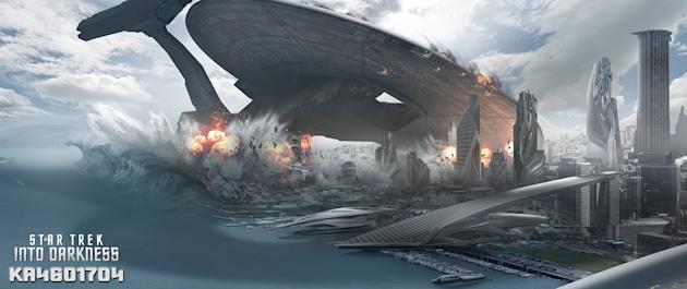 Exclusive concept art from Paramount Pictures' 'Star Trek Into Darkness'