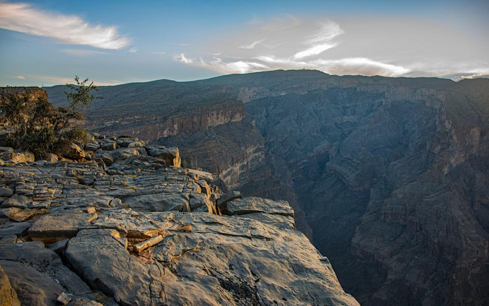 Adventure can be found in Oman's vast canyons - Getty