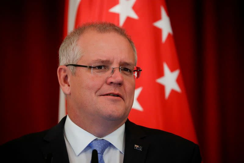 Australia government adds to stimulus as record deficits loom