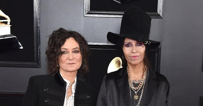 Linda Perry Says She and Estranged Wife Sara Gilbert Are 'Evolving Into Something Else'