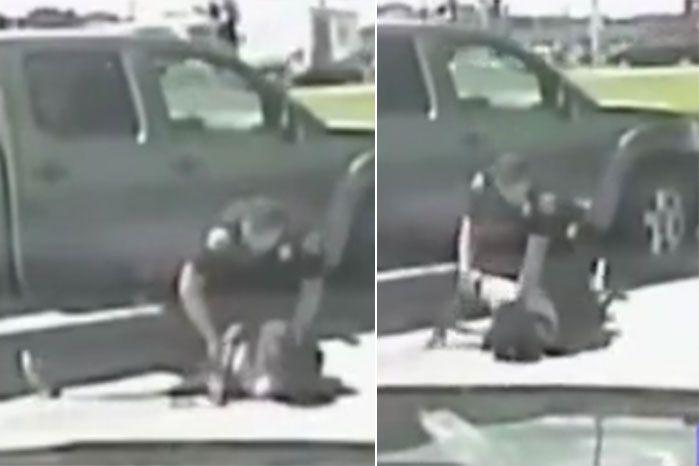 Footage of the violent assault has sparked further outrage over police violence in the US.