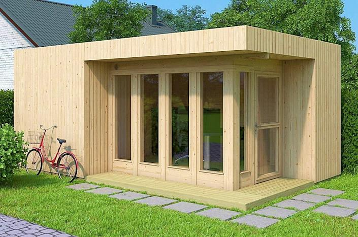 The Allwood Arlanda XL DIY tiny home.