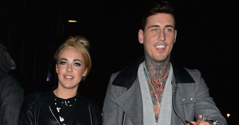 Jeremy McConnell and Stephanie Davis has been reunited for the first time since their fallout (Copyright: Palace Lee/REX/Shutterstock)