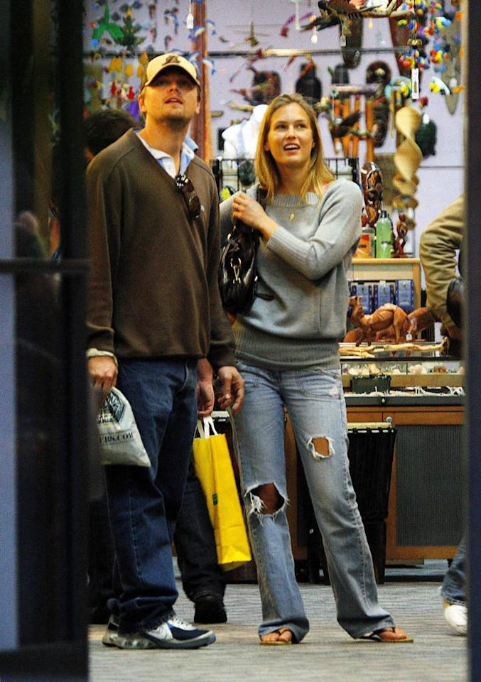 """Although it was rumored that Leonardo DiCaprio and Israeli model Bar Refaeli were on their way to getting hitched, the couple never made it down the aisle, ending their two-year relationship in October. <a href=""""http://www.x17online.com"""" target=""""new"""">X17 Online</a> - April 18, 2007"""