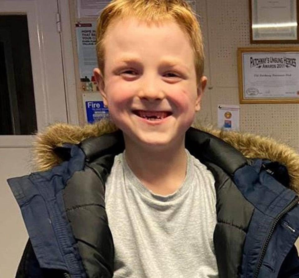 Ten-year-old Knox Jefferies has been missing with his mother since July 28 (Family handout/PA) (PA Media)