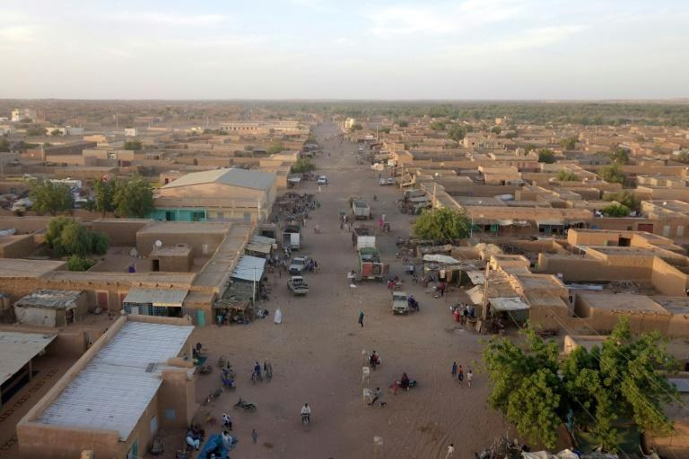 """The Malian town of Menaka, where a """"relative calm"""" has returned after years of violence"""