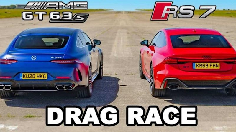 RS7 vs AMG GT 63 S