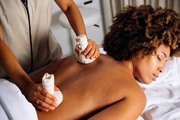 The Muscle Recovery Massage is one of the $109 spa treatments you can receive at ame at the JW Marriott Turnberry in Aventura. There are also facials and other body treatments available.