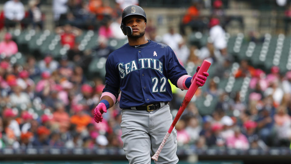The Seattle Mariners' Robinson Cano has been suspended for using a banned substance. (AP)